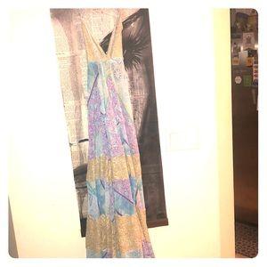 Bohemian maxi dress 👗